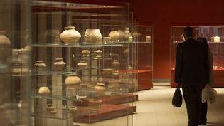 La nouvelle galerie sumérienne du musée de Bassora, en Irak.  (Hussein FALEH / AFP)