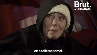 VIDEO. Une nuit avec Andrei et Graziella, sans-abri (BRUT)