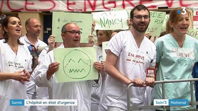 Urgence à l'hôpital, la grève se durcit