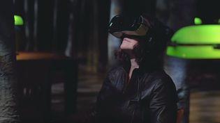 """Capture d'écran de la BA de """"La Bibliothèque la nuit""""  (Culturebox)"""