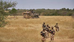 Des soldats français au Burkina Faso en novembre 2019. (MICHELE CATTANI / AFP)
