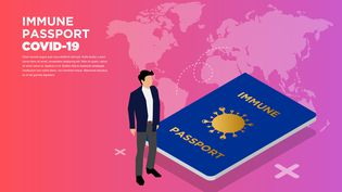 Un passeport vaccinal ou d'abord un carnet de vaccinations à jour ? (GETTY IMAGES)