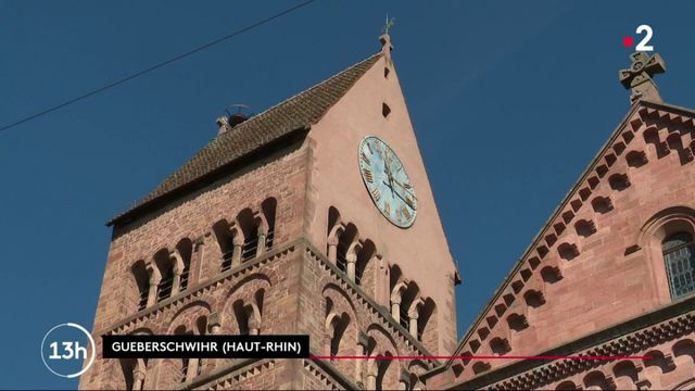 Alsace : une cuvée de vin pour sauver le clocher