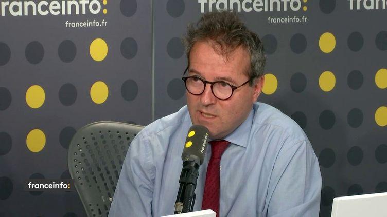 Le directeur de l'AP-HP, Martin Hirsch, sur franceinfo, le mardi 11 juin 2019 (photo d'illustration). (FRANCEINFO / RADIOFRANCE)