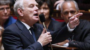 Le Premier ministre Jean-Marc Ayrault à l'Assemblée nationale, le 22 octobre 2013. (PATRICK KOVARIK / AFP)