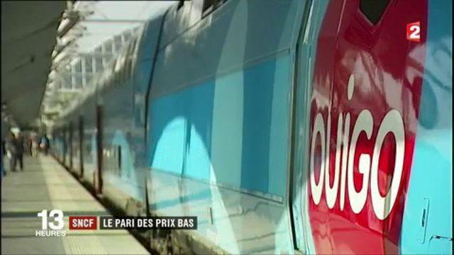 """SNCF : multiplication par cinq du trafic de """"Ouigo"""""""
