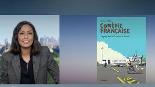 """Chaque samedi, la rédaction de France Télévisions livre ses coups de cœur culture de la semaine. Le 31 octobre, elle met en avant le livre """"Le déclic créatif"""" et la bande dessinée """"Comédie française"""". (France 2)"""