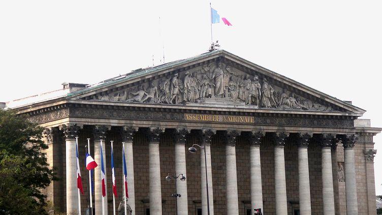 L'Assemblée nationale à Paris, le 8 novembre 2017. (GERARD HOUIN / BELGA MAG / AFP)