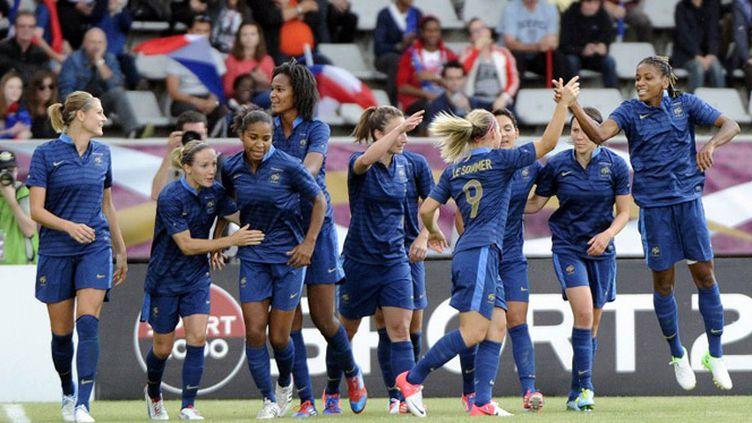L'équipe de France vise une médaille olympique (BERTRAND GUAY / AFP)