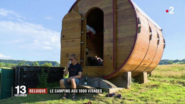 Belgique : le camping aux 1 000 visages