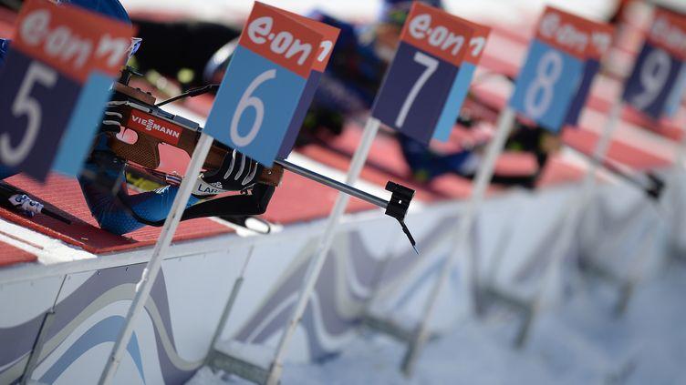 Le tir couché au biathlon (ALEXANDER VILF / RIA NOVOSTI)
