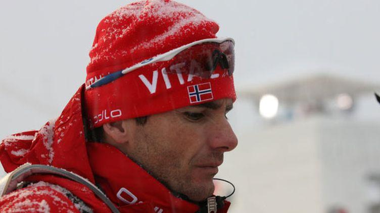 Raphaël Poirée, huit fois champion du monde de biathlon
