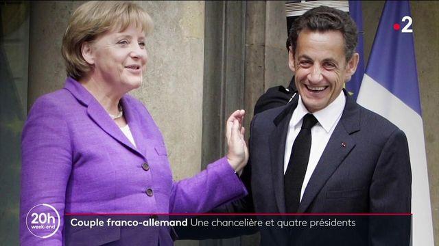 Allemagne : Angela Merkel, la chancelière aux quatre présidents français