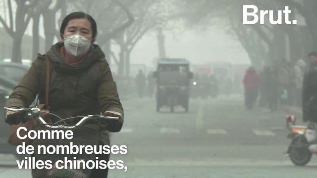 brut : pekin pollution