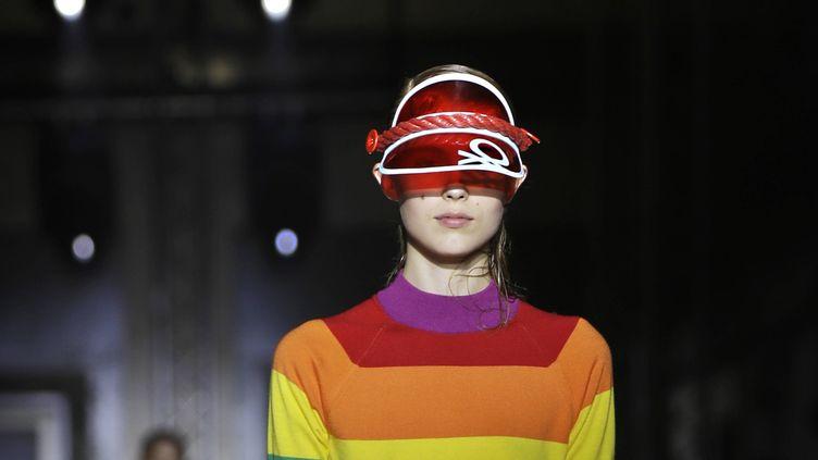 Défilé Benetton printemps-été 2020 à la Fashion Week de Milan, le 17 septembre 2019 (LUCA BRUNO/AP/SIPA / SIPA)