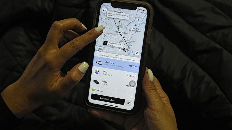 Uber en Colombie, c'est fini (illustration). (JUAN BARRETO / AFP)