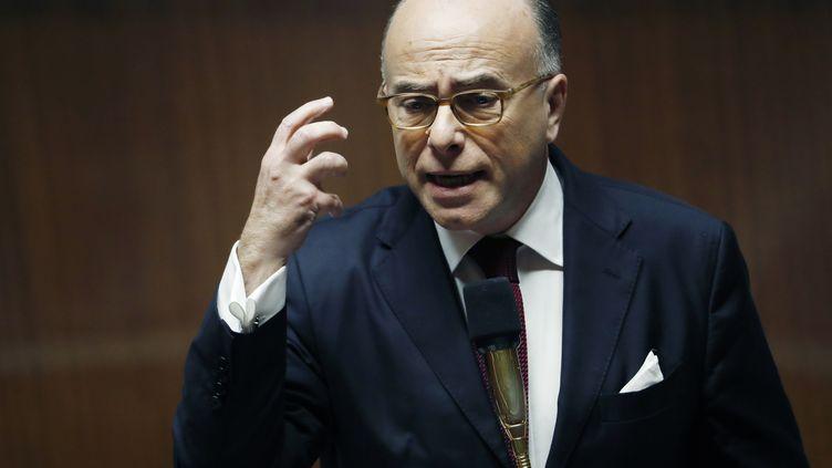 Bernard Cazeneuve à l'Assemblée nationale le 13 décembre2016 (PATRICK KOVARIK / AFP)