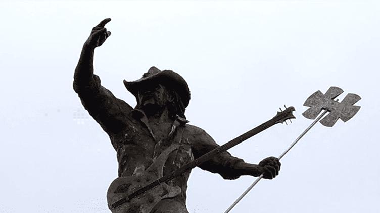 La statue de Lemmy Kilmister au Hellfest  (France 3)