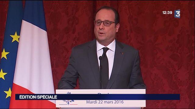 Attentats de Bruxelles : réunion de crise à l'Elysée