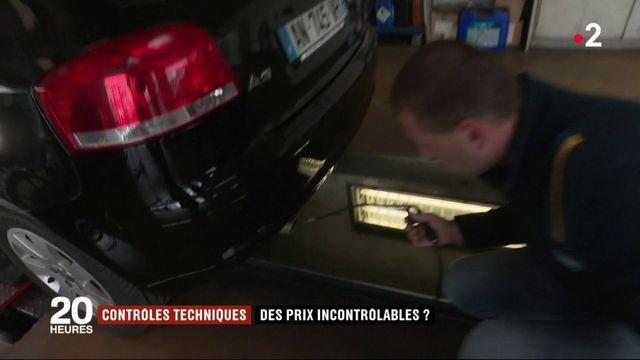 Automobile : le prix des contrôles techniques affiche une hausse de 12,3%