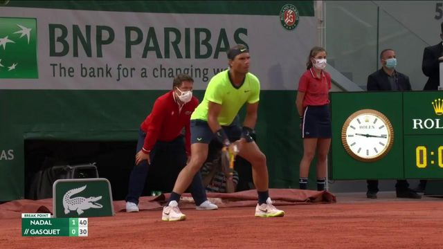 VIDÉO. Roland-Garros 2021 : revivez les moments forts de la qualification de Rafael Nadal face à Richard Gasquet
