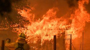 Des incendies en Californie (Etats-Unis), le 30 juillet 2018. (JOSH EDELSON / AFP)