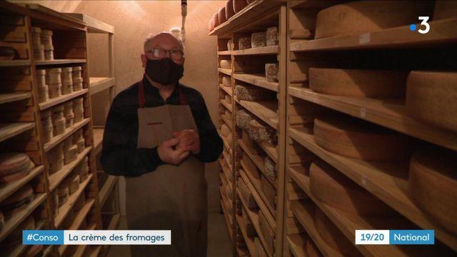 Gastronomie : rencontre avec le fromager Bernard Antony, coqueluche des restaurants étoilés