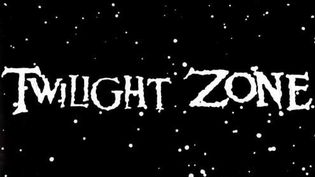 """Générique de """"Twilight Zone"""" """"La quatrième dimension"""".1959. (DR)"""