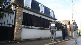 A Sarcelles, dimanche 19 novembre 2017, où un policier a tué trois personnes samedi soir. (GUILLAUME GEORGES / MAXPPP)