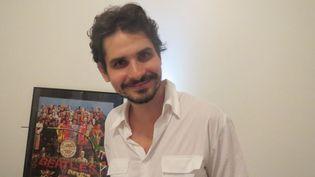 Thiago Amud à Ipanema, Rio de Janeiro, le 6 avril 2013  (Annie Yanbékian)