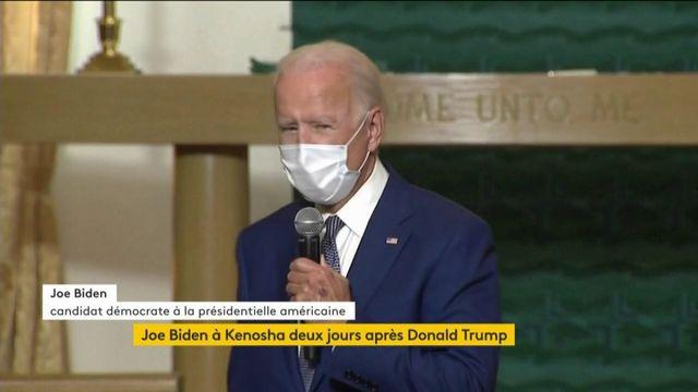 BON Etats-Unis : Joe Biden à Kenosha deux jours après Donald Trump