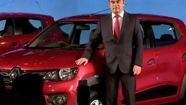 Renault dévoile la Kwid, sa voiture ultra low cost