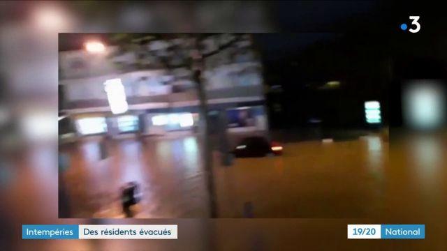 Intempéries : des résidents évacués à Mandelieu-la-Napoule