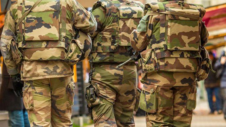 (L'opération Sentinelle mobilise actuellement 10.000 soldats © KONRAD K./SIPA)