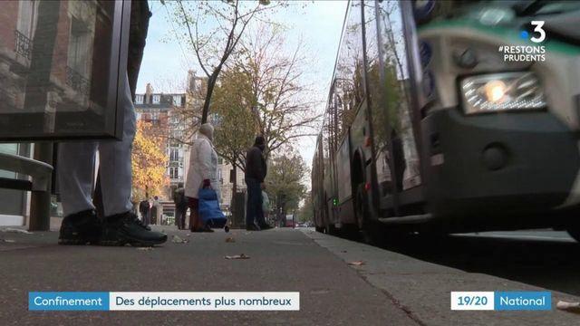 Confinement : les Français se déplacent davantage qu'au printemps dernier