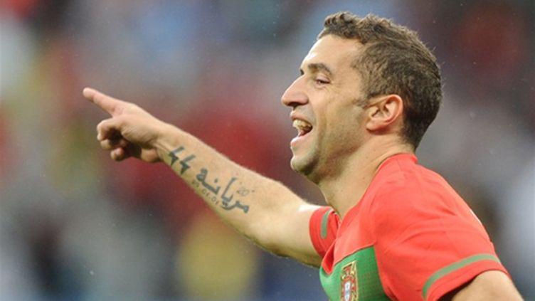 L'attaquant portugais Simao (JEWEL SAMAD / AFP)