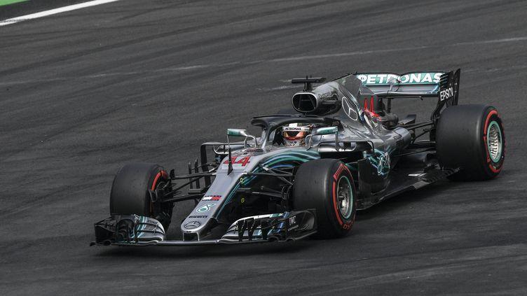 Lewis Hamilton (PEDRO PARDO / AFP)