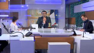 Le plateau des informés du matin, le 17 février 2021 (FRANCEINFO / RADIO FRANCE)