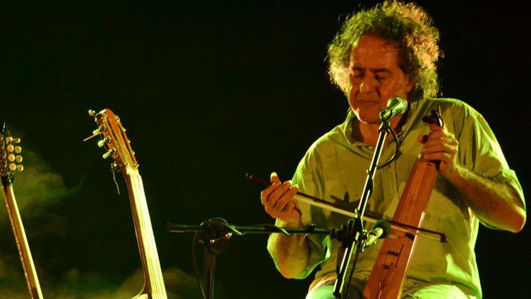 Abaji sur scène à Trivandrum, en Inde  (DR)
