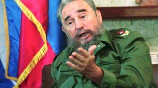 Fidel Castro en 1993. (POOL / AFP)