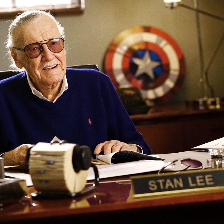 Le créateur de comics Stan Lee photographié à Los Angeles (Etats-Unis) le 7 mars 2017. (RICHARD CARTWRIGHT / DISNEY ABC TELEVISION GROUP / GETTY IMAGES)