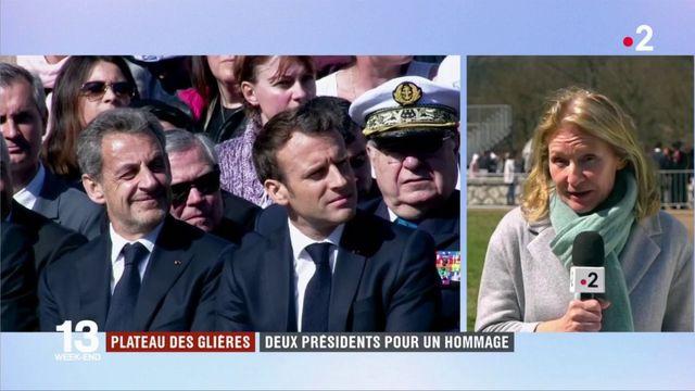 Plateau des Glières : deux présidents pour un hommage