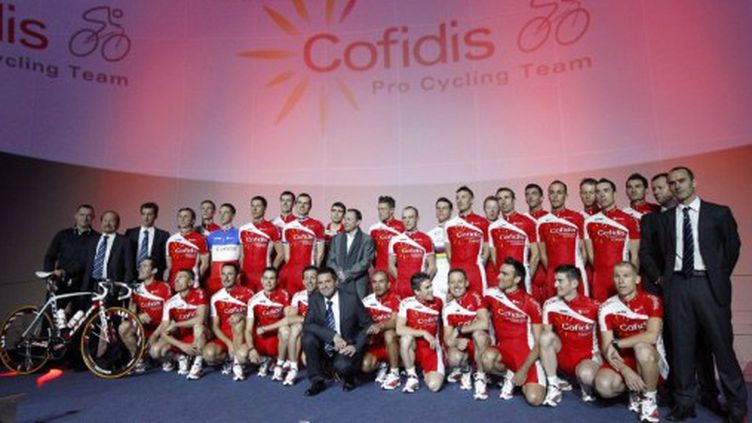 L'équipe Cofidis pour l'année 2012