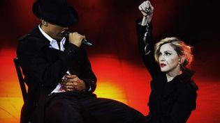 Madonna, sur la scène de l'Olympia le 26 juillet  (Guy Oseary/SIPA)