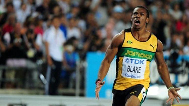 Le sprinteur Yohan Blake, champion du monde du 100 mètres en 2011.