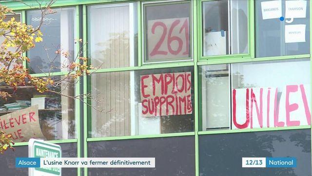 Bas-Rhin : l'usine Knorr de Duppigheim va définitivement fermer ses portes