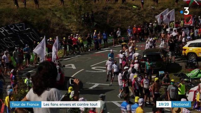 Tour de France : les supporters sont au rendez-vous