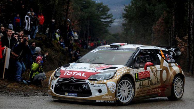 Sébastien Loeb (Citroën) (JEAN-PIERRE CLATOT / AFP)