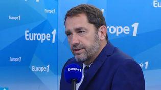 Le porte-parole du gouvernement, Christophe Castaner, sur Europe 1, le 24 mai 2017. (Europe 1)