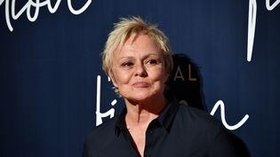 L'actrice Muriel Robin lors du festinal de la fiction à La Rochelle (Charente-Maritime), le 12 septembre 2018. (XAVIER LEOTY / AFP)